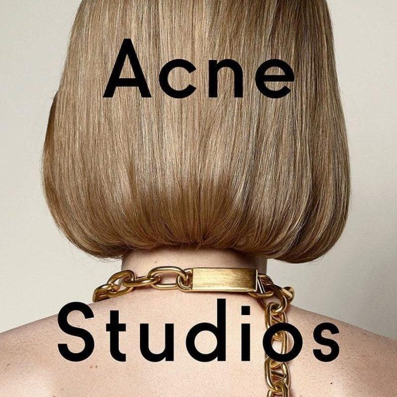 Acne Studiosの歴史や人気の理由について