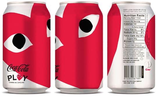 世界的に有名なコカコーラとのコラボレーション
