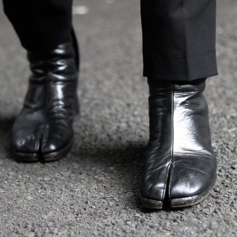 マルジェラ足袋ブーツサイズ感(メンズ)