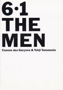 ヨウジヤマモトと合同メンズコレクション「6.1 THE MEN」