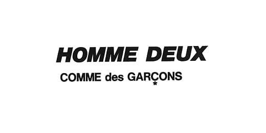 COMME des GARÇONS HOMME DEUX(コムデギャルソン・オム ドゥ)メンズ 川久保玲