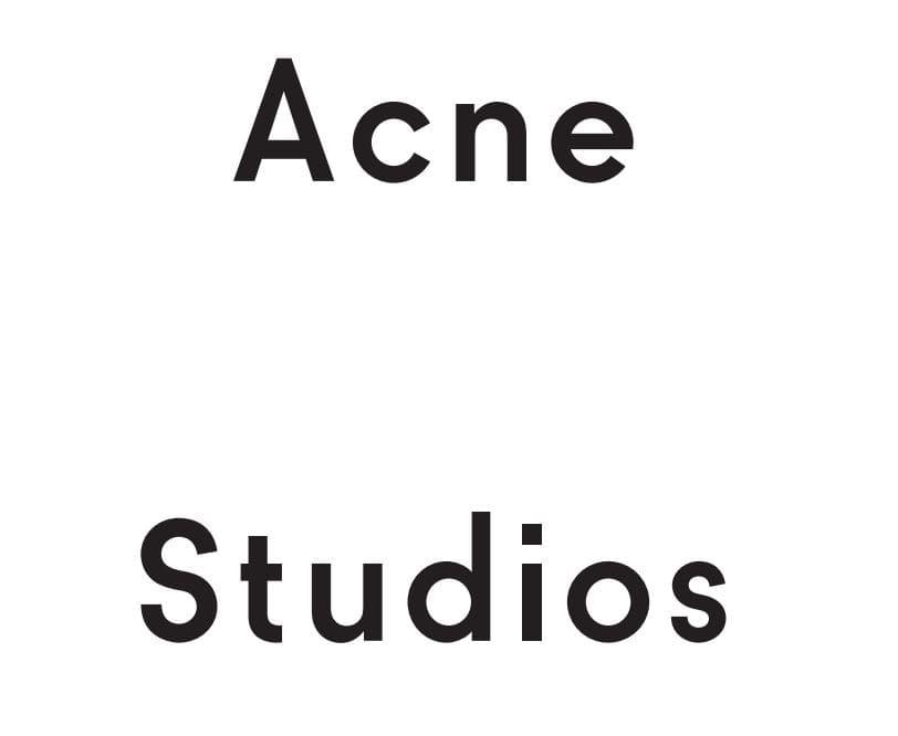 ACNEとAcne Studiosのロゴの違いとは?歴史や人気の理由