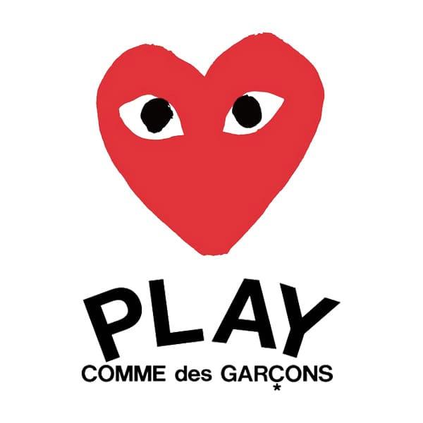 プレイ・コムデギャルソン(PLAY COMME des GARCONS)のロゴ