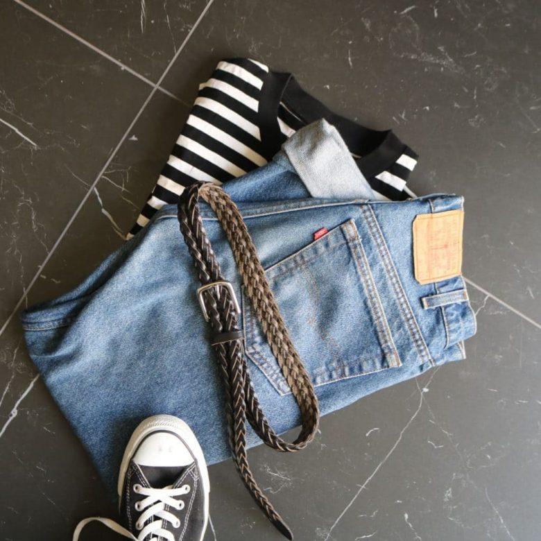 Tシャツとジーンズ、スニーカーといったカジュアルなアイテムにも相性がよく