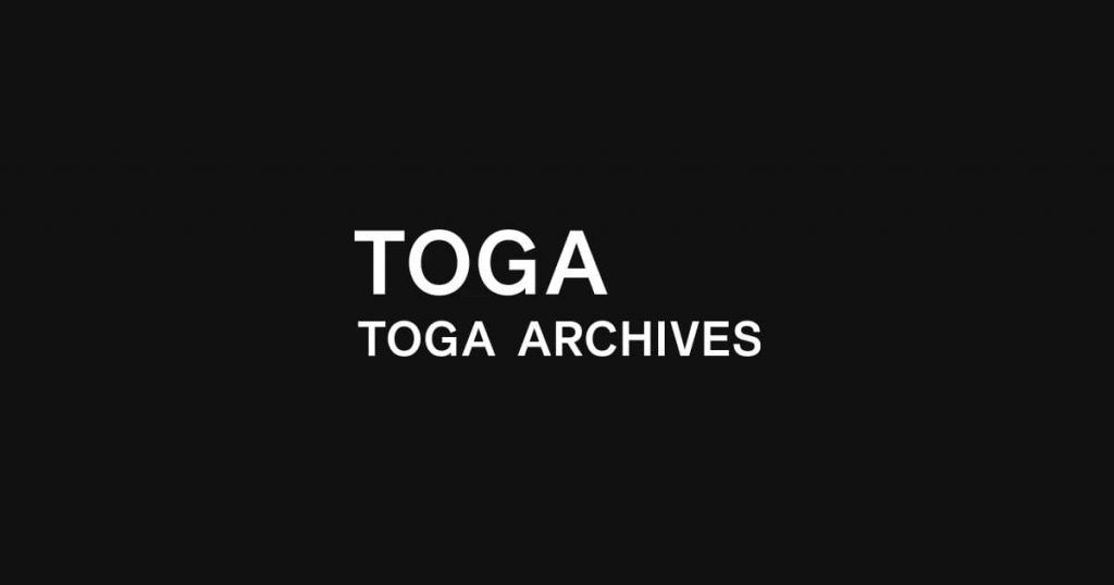 2. TOGA(トーガ)の6つの展開ラインの違いについて
