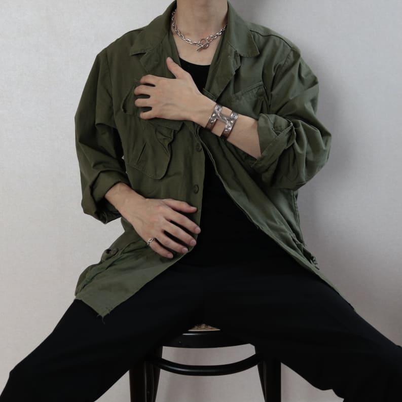 【無骨ヴィンテージ】USARMYジャングルファティーグジャケット