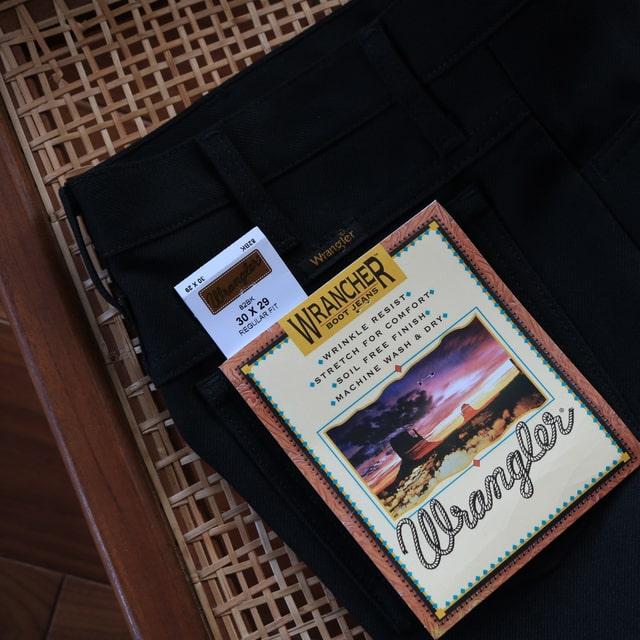3.【送料返品無料!】ラングラーランチャードレスジーンズ(フレアパンツ)は絶対Amazon通販で買おう!