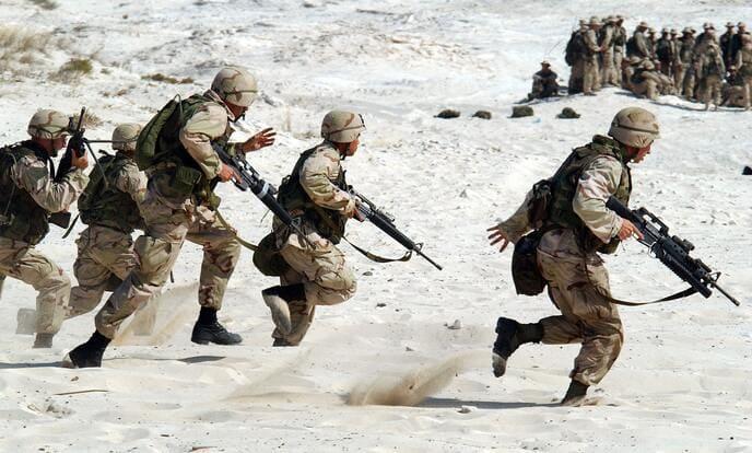 ②:軍モノの中でも最強の素材を使用していること