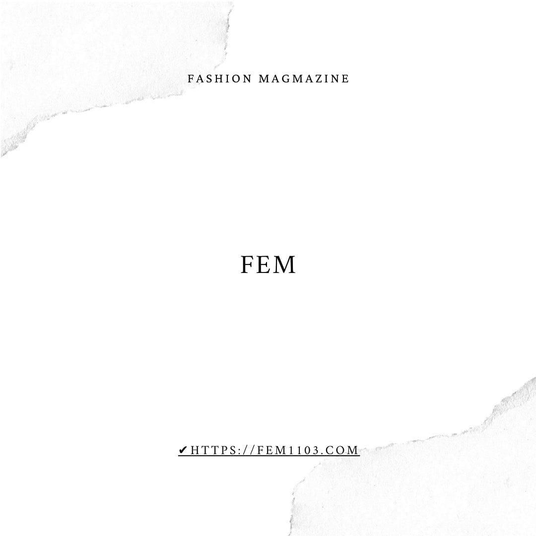 FEM ファッションブログ トップページ画像